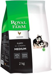 Royal Farm Puppy Medium Breed Chicken фото